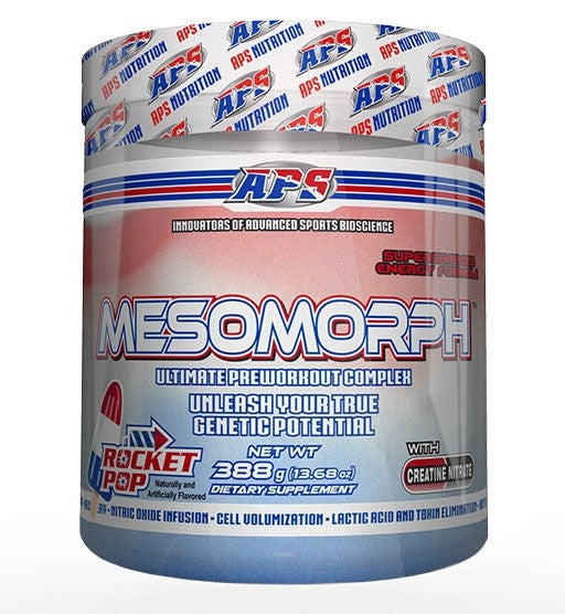 APS NUTRITION MESOMORPH PRE-WORKOUT. DMAA!