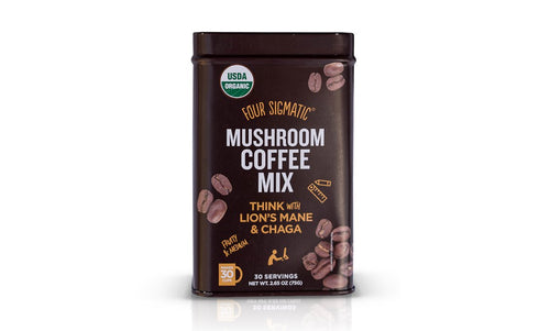 FOUR SIGMATIC MUSHROOM COFFEE WITH LIONS MANE TIN