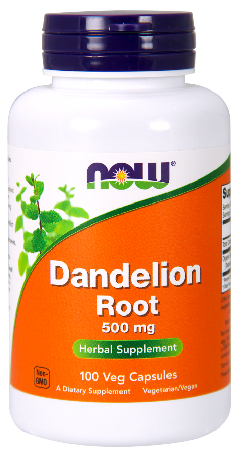 NOW DANDELION ROOT (250 Cap)