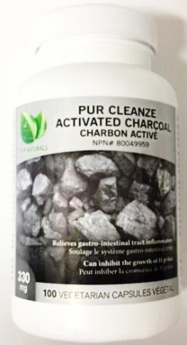 PUR NATURALS ACTIVATED CHARCOAL