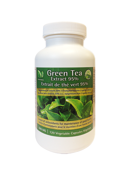 PUR NATURALS GREEN TEA EXTRACT
