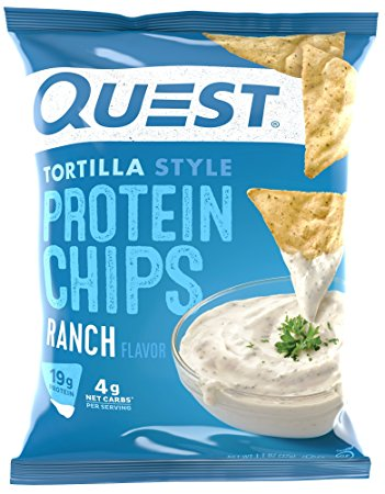 QUEST NUTRITION TORTILLA STYLE PROTEIN CHIPS (8 PACK)