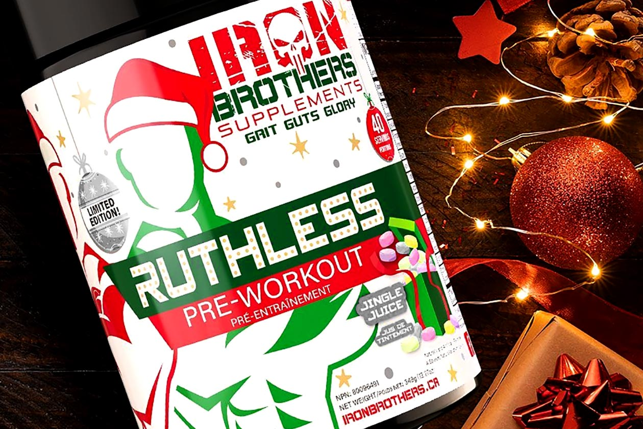 IRON BROTHERS RUTHLESS PREWORKOUT!