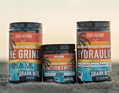 AXE & SLEDGE SHARK BITE STACK!