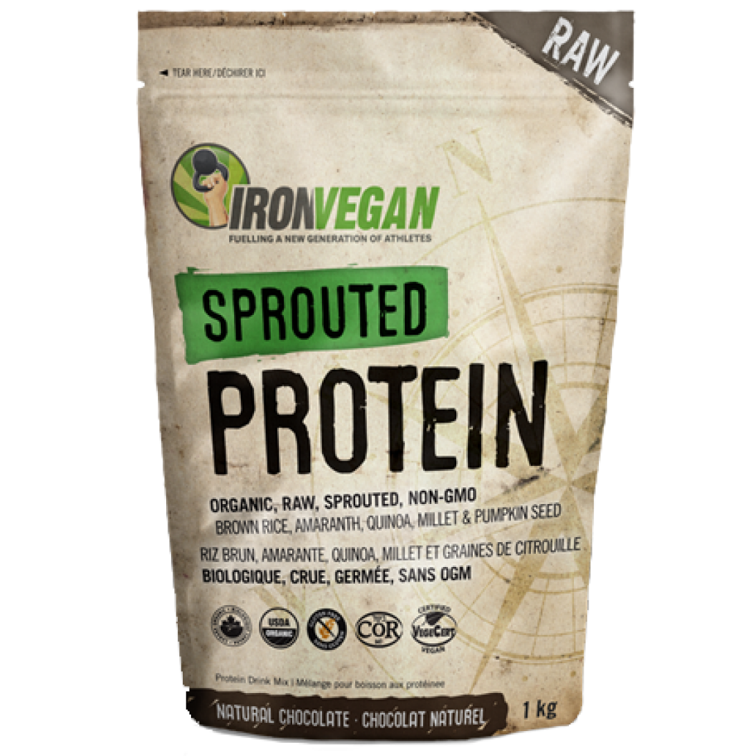 IRON VEGAN SPROUTED PROTEIN