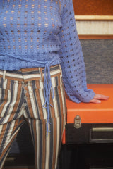 70's Striped Pant