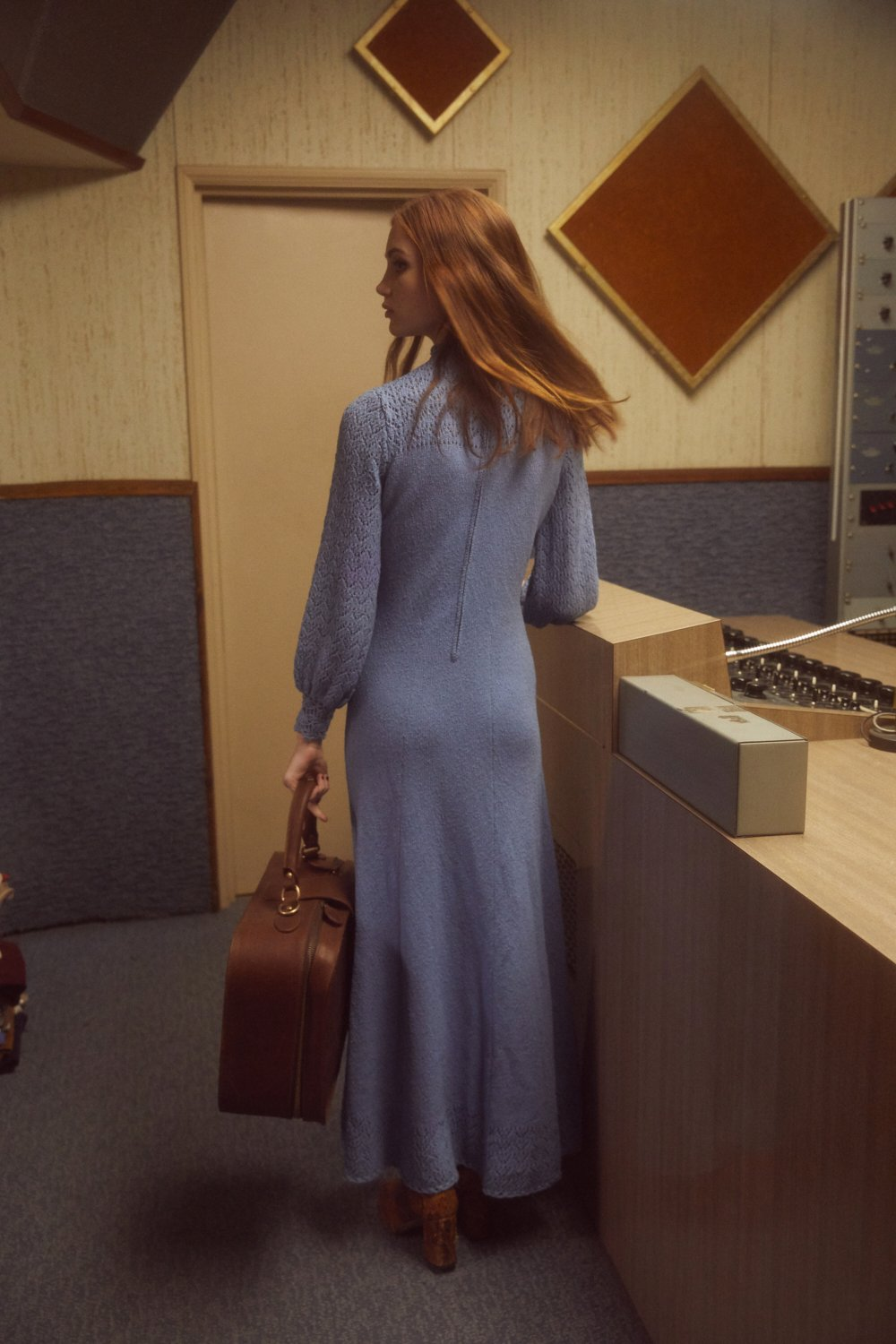 70's Knit Gown