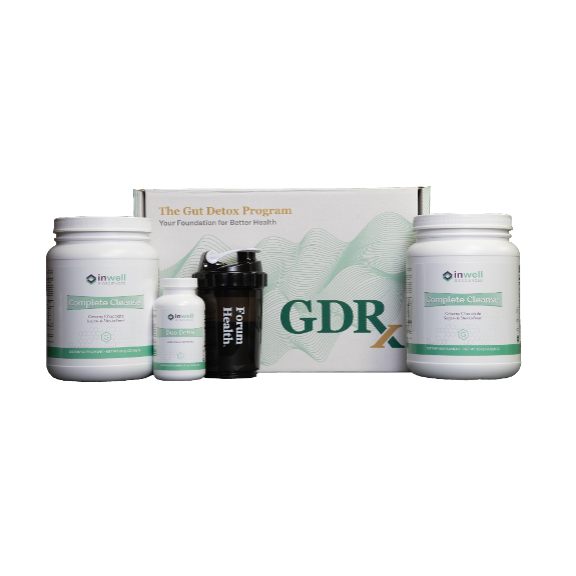 10 Day Total Body Reboot Program - GDRx with Virtual Group Sessions