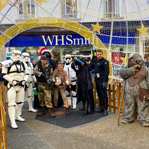 Sonner Toys Portsmouth Christmas Star Wars Event 2019