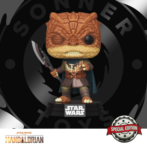 Pop! Star Wars: The Mandalorian - Trandoshan Thug Special Edition - SonnerToys