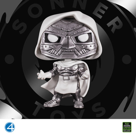 Pop! Fantastic Four - Doctor Doom (God Emperor) Emerald City 2020 Exclusive - SonnerToys