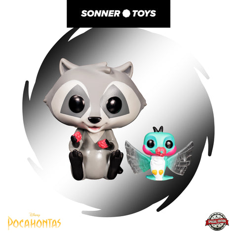 Pop! Pocahontas - Meeko with Flit (Earth Day) Special Edition - SonnerToys