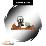 Pop! Star Wars: The Mandalorian - Mandalorian & The Child (Moment) - SonnerToys