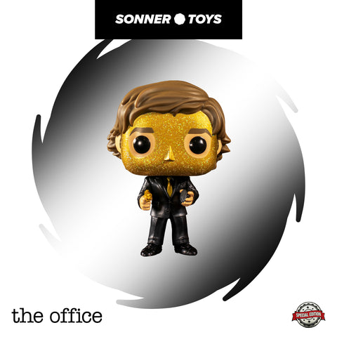 Pop! The Office (US) - Jim Halpert (Goldenface) Special Edition - Sonner Toys