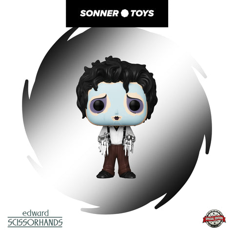 Pop! Edward Scissorhands - Edward (Purple Face Mask) Special Edition - SonnerToys