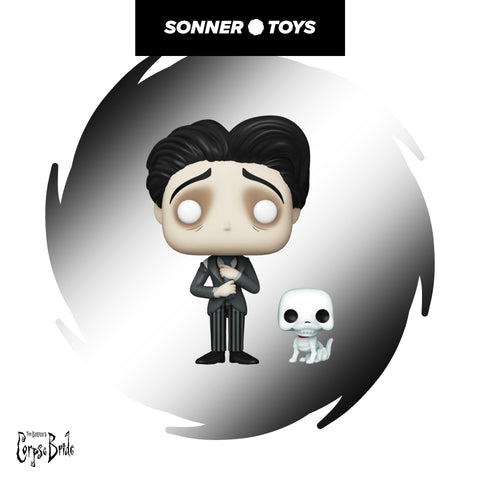 Pop! The Corpse Bride - Victor with Scraps - SonnerToys