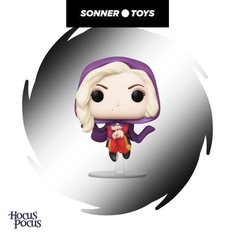 Pop! Disney Hocus Pocus - Sarah Sanderson (Flying) - SonnerToys