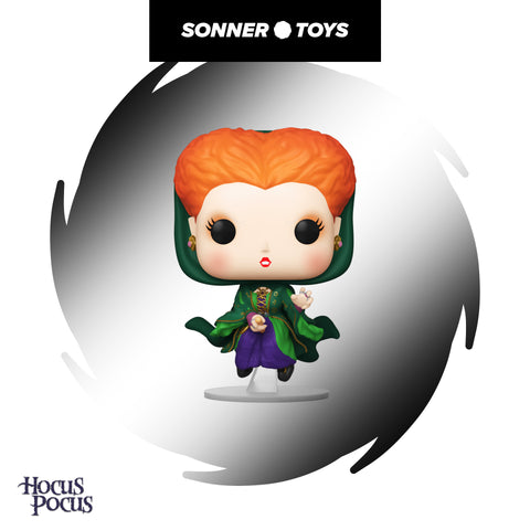Pop! Disney Hocus Pocus - Winifred Sanderson (Flying) - SonnerToys