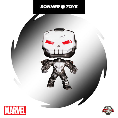 Pop! Marvel - The Punisher (War Machine) Special Edition - SonnerToys
