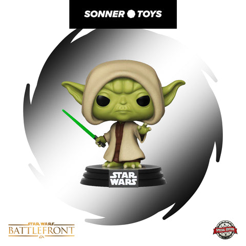 Pop! Star Wars: Battlefront - Yoda (Hooded) Special Edition