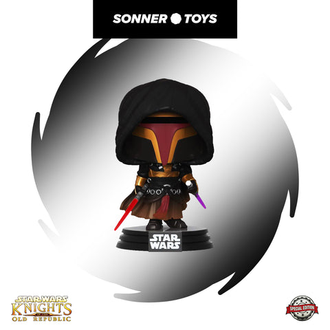 Pop! Star Wars: Knights of the Old Republic - Revan Special Edition - Sonner Toys