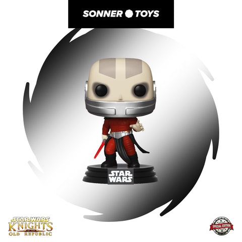 Pop! Star Wars: Knights of the Old Republic - Darth Malak Special Edition - SonnerToys