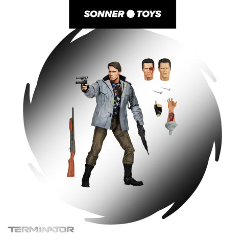 NECA: The Terminator - Ultimate T-800 (Tech Noir) Figure - SonnerToys