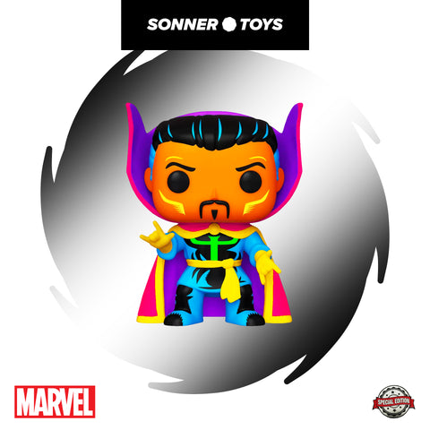 Pop! Marvel - Doctor Strange (Black Light) Special Edition - SonnerToys