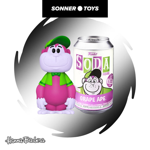 Funko Vinyl Soda: Hanna Barbera - Grape Ape - SonnerToys