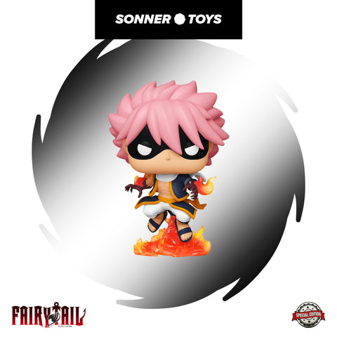 Pop! Fairy Tail - Etherious Natsu Draneel Special Edition - SonnerToys