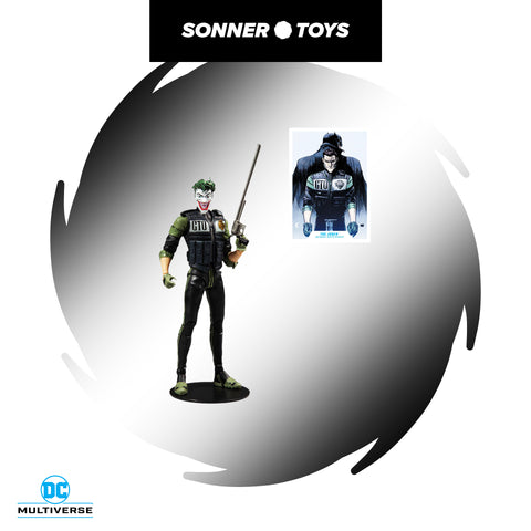 McFarlane Toys: DC Multiverse - Joker (White Knight) - SonnerToys
