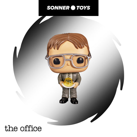Pop! The Office (US) - Dwight (with Jello Stapler) - SonnerToys