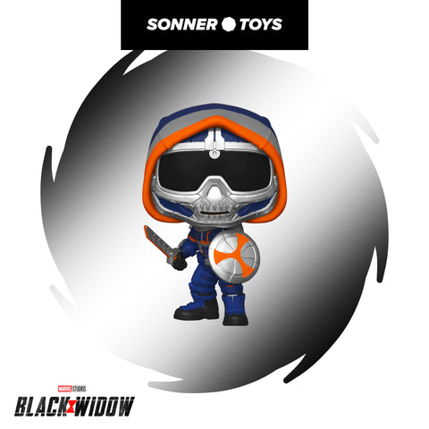Pop! Black Widow - Taskmaster (with Shield) - Sonner Toys
