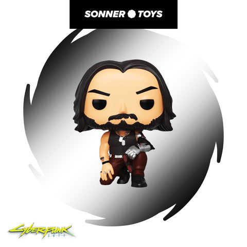 Pop! Cyberpunk 2077 - Johnny Silverhand - SonnerToys