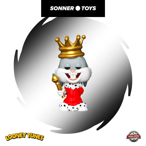 Pop! Looney Tunes Bugs 80th - King Bugs (Metallic) Special Edition - SonnerToys