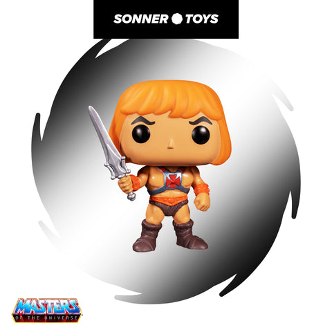 Pop! Masters of the Universe - He-Man - SonnerToys