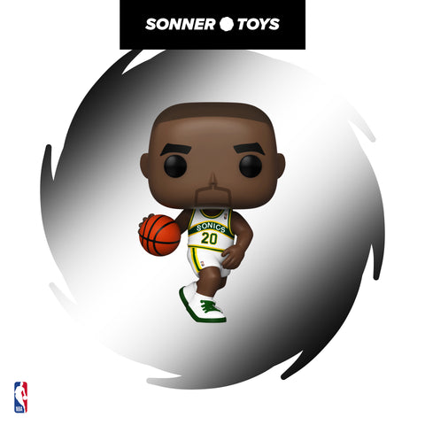 Pop! NBA Legends - Gary Payton (Sonics Home) - SonnerToys