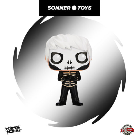 Pop! My Chemical Romance - Gerard Way (Skeleton) Special Edition - SonnerToys