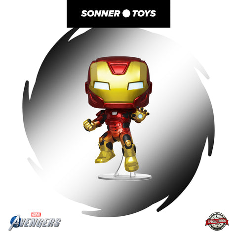 Pop! Avengers Game - Iron Man (Space Suit) Special Edition - SonnerToys