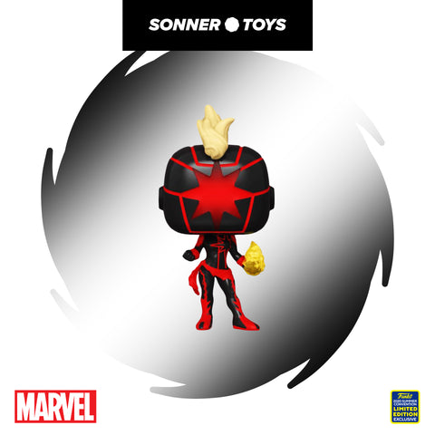 Pop! Marvel - Captain Marvel Dark (SDCC 2020) - SonnerToys