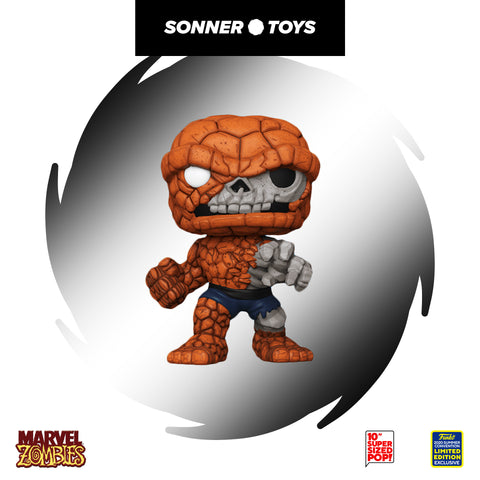 Pop! Marvel Zombies - The Thing 10 Inch (SDCC 2020) - SonnerToys