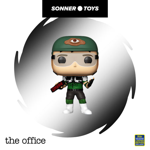 Pop! The Office - Dwight as Recyclops v2 (SDCC 2020) - SonnerToys