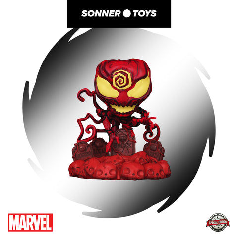 Pop! Marvel - Absolute Carnage (on Headstone) Deluxe Special Edition - SonnerToys