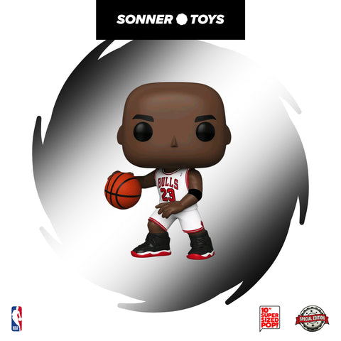 Pop! NBA - Michael Jordan (White Jersey 10 Inch) Special Edition - SonnerToys