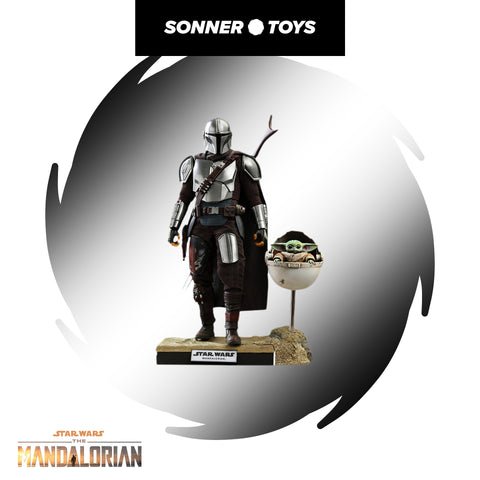 Hot Toys: Star Wars: The Mandalorian - The Mandalirian & The Child (DELUXE) - SonnerToys