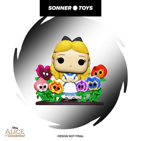 Pop! Alice in Wonderland 70th - Alice with Flowers (Deluxe)