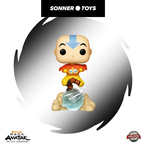 Pop! Avatar: The Last Airbender - Aang (with Air Scooter) Special Edition