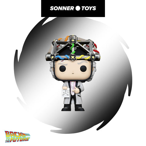 Pop! Back to the Future - Doc (with Helmet)