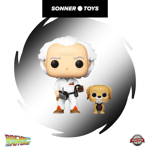 Pop! Back to the Future - Doc (with Einstein) Special Edition
