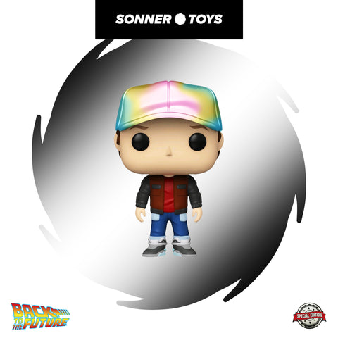 Pop! Back to the Future - Future Marty (Metallic) Special Edition